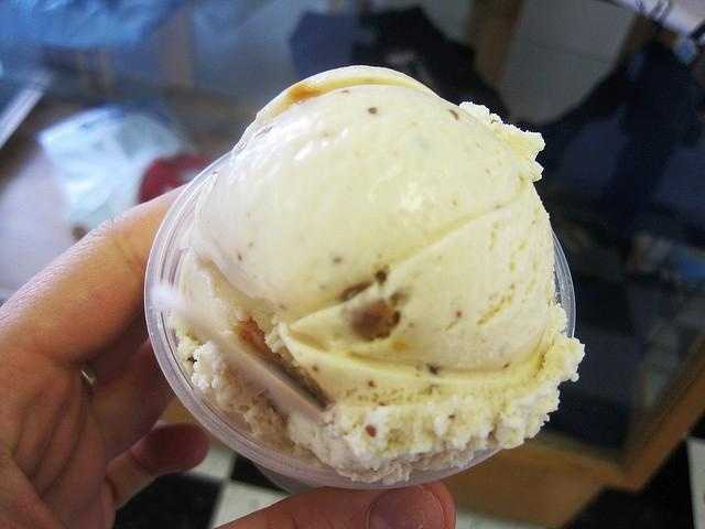 David's top ice cream picks are anything from JP Licks or Jamoca Almond Fudge.