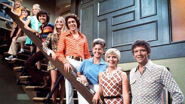 David's favorite show as a kid was The Brady Bunch.