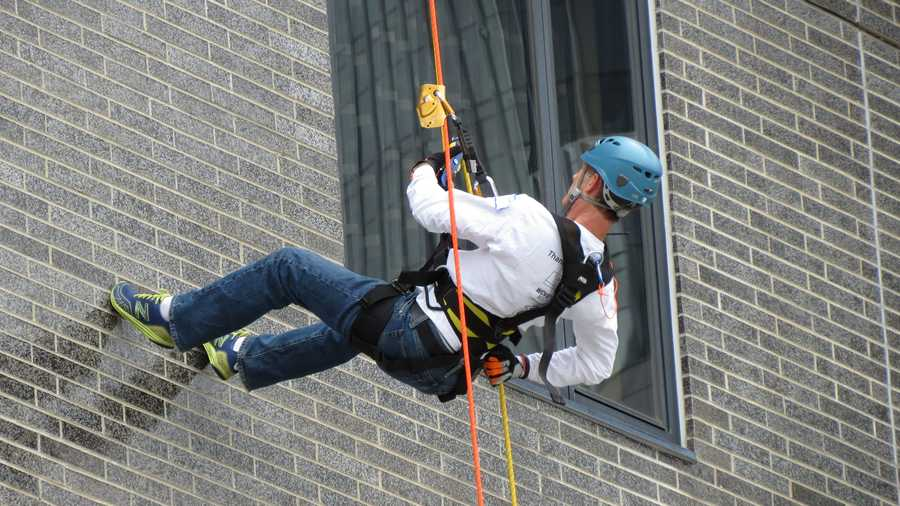 He has rappelled down the Hyatt to raise money for the Special Olympics ...