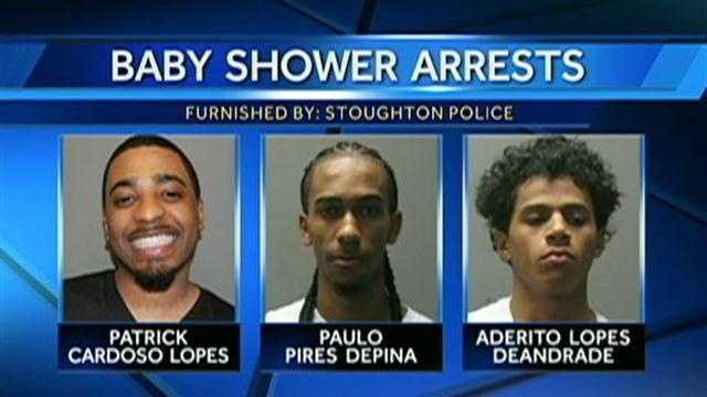 baby shower arrests