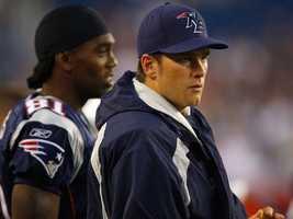 Brady keeps coconut water in his locker.