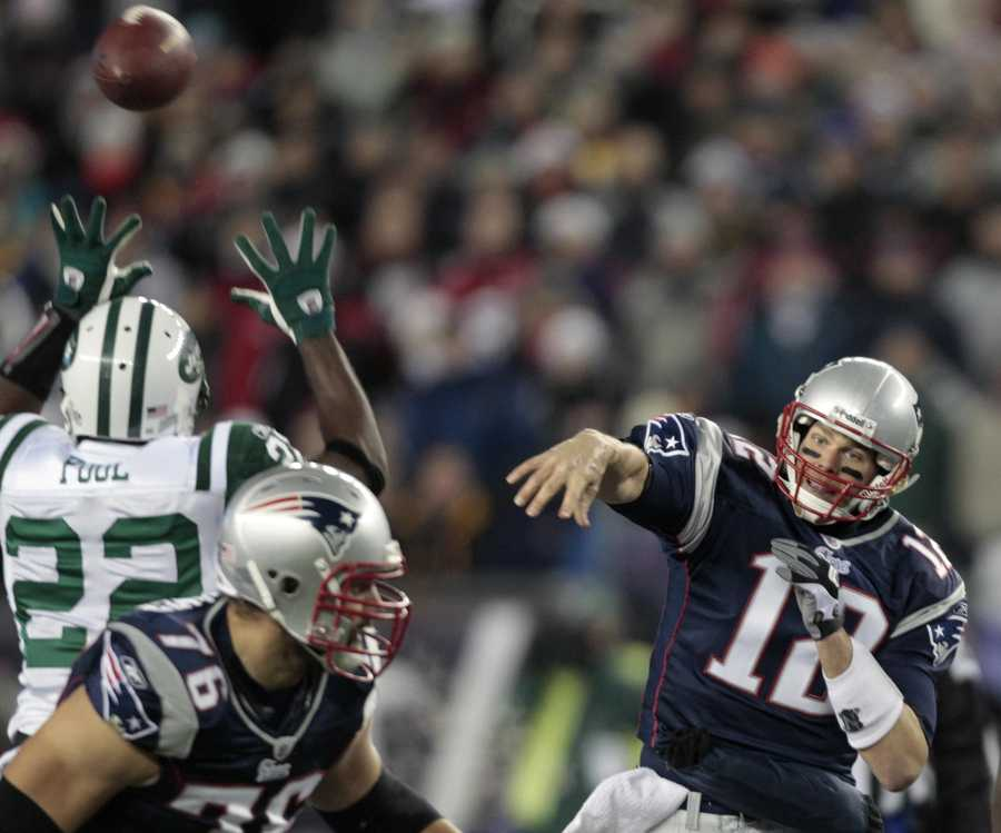 Brady became starting quarterback in 2001, when Drew Bledsoe was hurt during a game against the New York Jets.