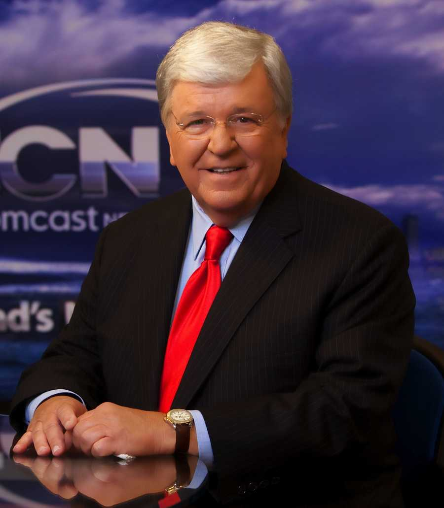 Chet Curtis at New England Cable News