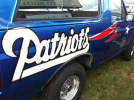 They say they'll decide on how to demolish cars in the name of the Pats after they win Sunday.