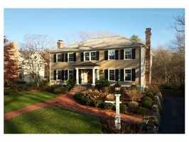 92 Livingston Road is on the market in Wellesley.