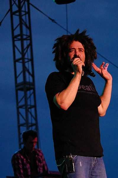 Adam Duritz, of the Counting Crows