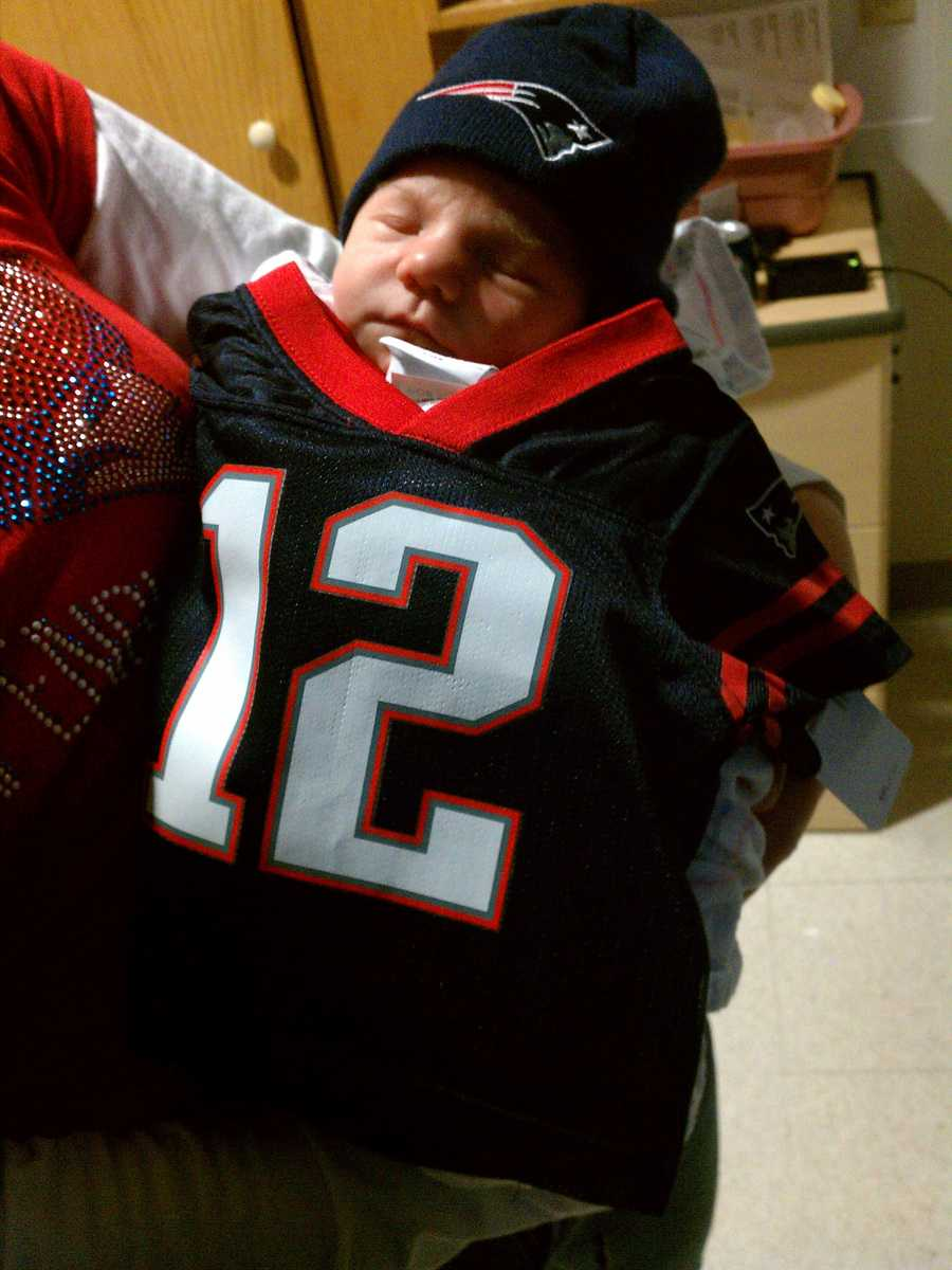 Filling in Tom Brady's jersey nicely.