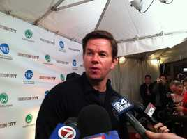 The special, private screening was a fundraiser for the Mark Wahlberg Youth Foundation.