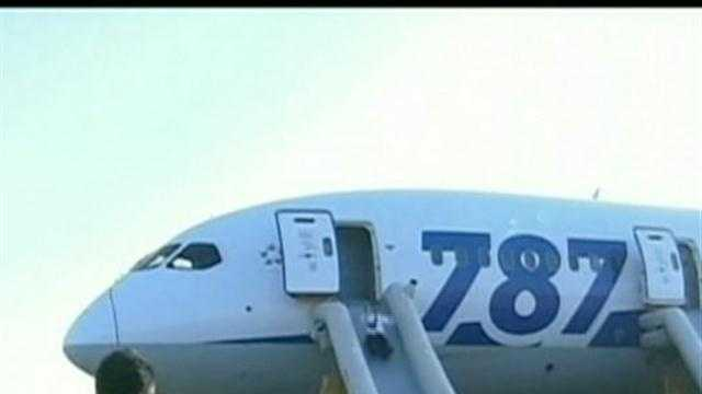 Two fleets of troubled jetliners were grounded after another scare forced passengers to evacuate a Boeing Dreamliner.