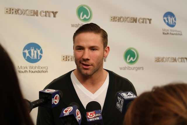 Despite being out for the year, many questions from the media were about the upcoming game against the Ravens