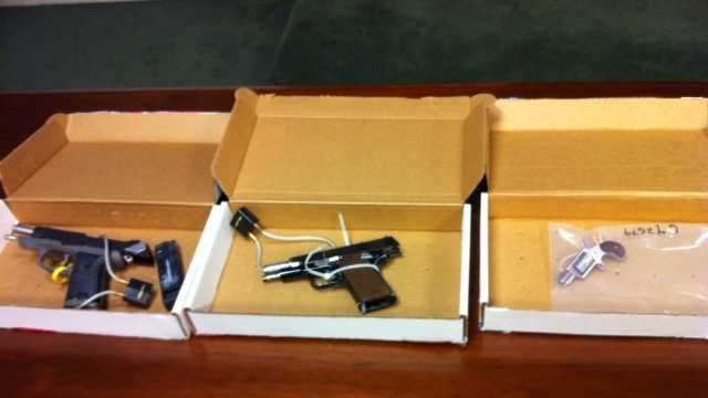 Guns from Boston Gang Arrests