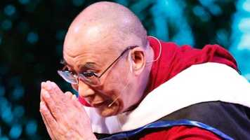 Liz says if she could interview anyone, it would be the Dali Lama.