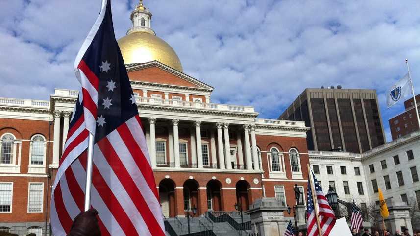 NRA rally Boston
