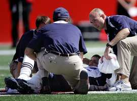 The hit by Pollard tore Brady'santerior cruciate ligament in his left knee.