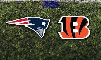 Week 5 - Sunday, Oct. 6 - The Patriots will travel to Cincinnati, for a game vs. the Cincinnati Bengals.