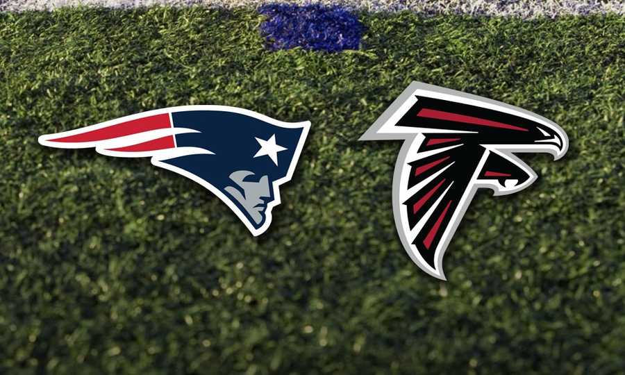 Week 4 - Sunday, Sept. 29 - The Patriots will travel to Atlanta, to face a team that also lost in their conference championship game, the Atlanta Falcons.  It will be a Sunday Night Football game televised nationally.