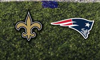 Week 6 - Sunday, Oct. 13 - The Patriots will host Drew Brees and the New Orleans Saints. 4:25pm game at Foxborough.