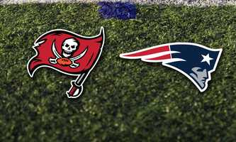 Week 3 - Sunday, Sept. 22 - The Patriots will host the Tampa Bay Buccaneers.