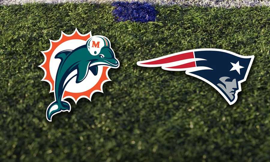Week 8 - Sunday, Oct. 27 - The Miami Dolphins head to Foxborough to face the Patriots for the first or two games. Game scheduled for 1pm.