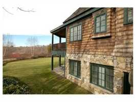 The home sits on 1.74 acres.