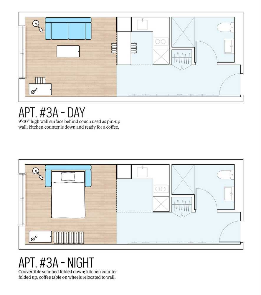 Here is a look at what the floor plans look like.