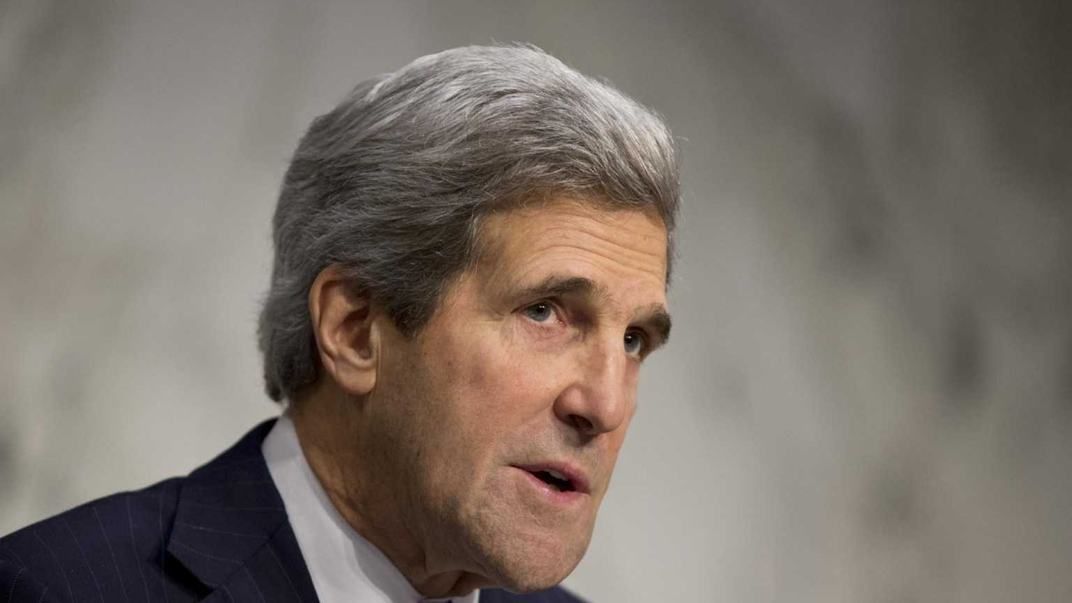 Senate Foreign Relations Chairman John Kerry, (D) Massachusetts