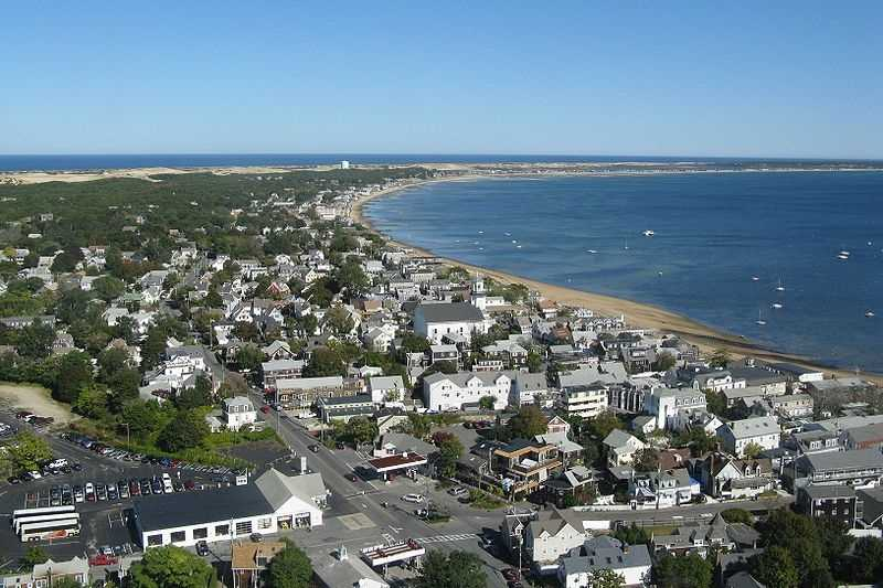 5.) Provincetown -- 59.4 percent have never been married.