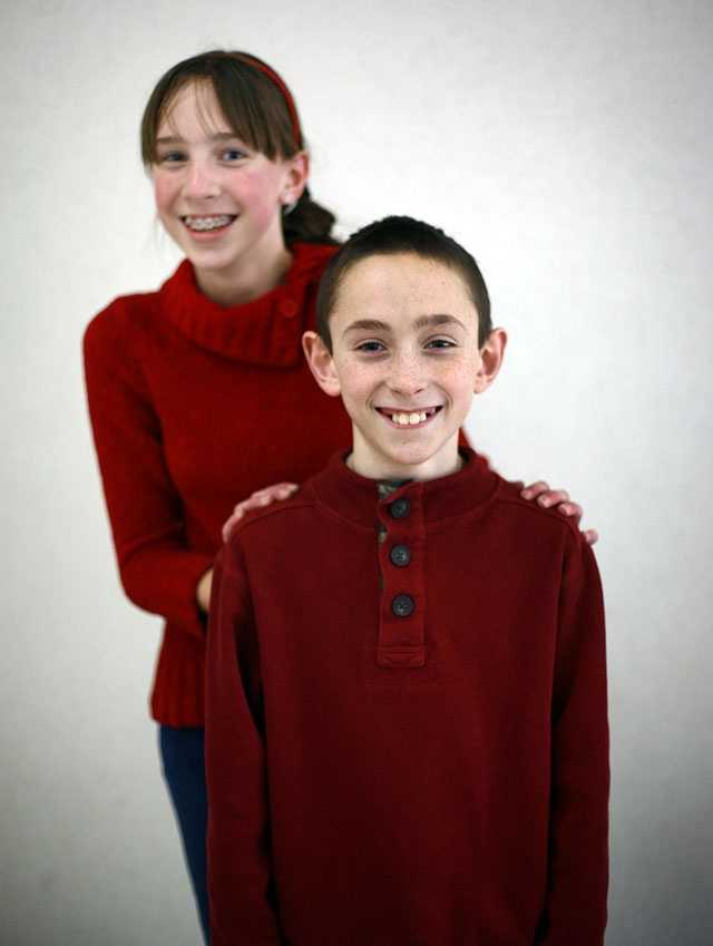 Ryan and Cassidy Guimares.  There are only 313 students in Pembroke's seventh-grade.