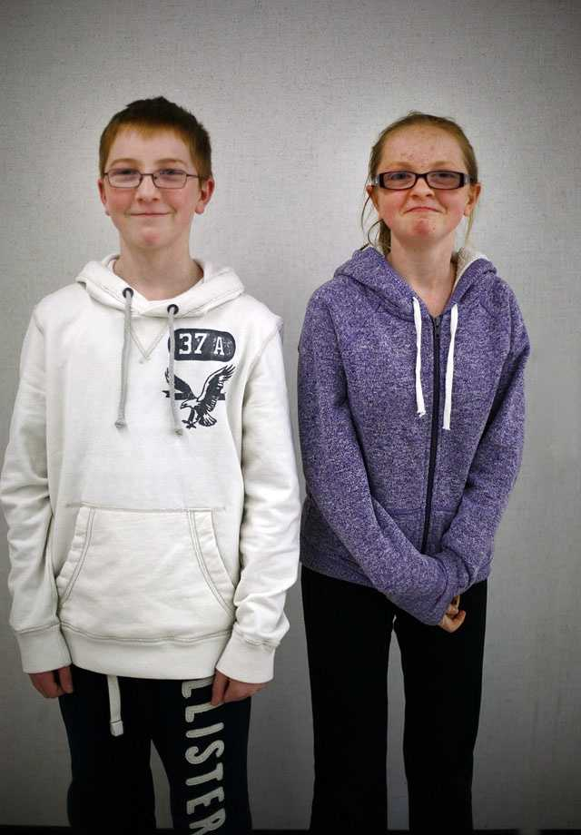 "Michael and Mary Gannon. Pembroke's twin count in the seventh grade ties the Guinness World Record, albeit unofficially, for the ""most twins in the same academic year at one school,"" currently held by high school classes in Connecticut, Iowa and Illinois. Pembroke has not yet applied yet to apply for record status."
