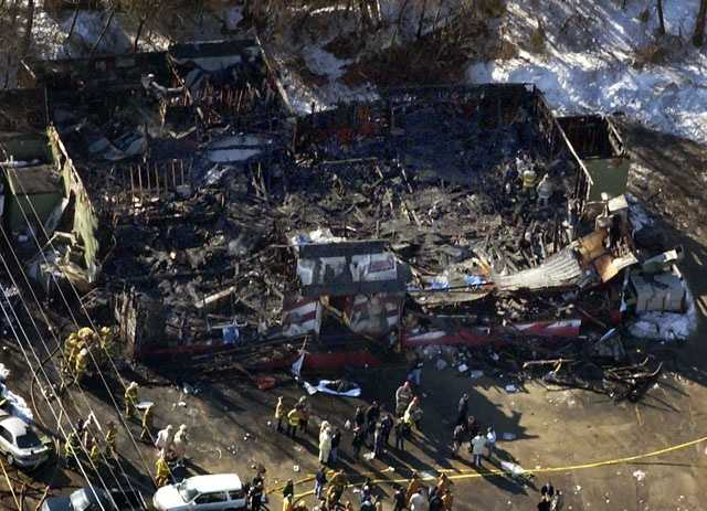 The Station nightclub fire, in West Warwick, R.I.,  was the fourth deadliest nightclub fire in American history, killing 100 people.
