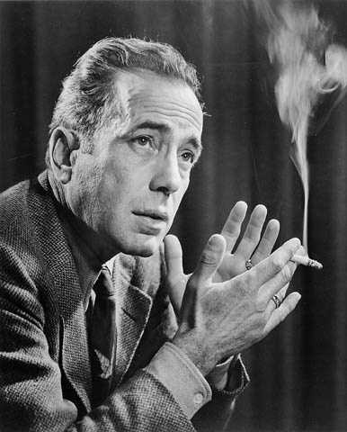 "Humphrey Bogart was buried with a gold whistle in 1957 that was inscribed, ""If you need anything, just whistle."""