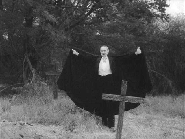 Bela Lugosi was buried in 1956 in a black Dracula cape.