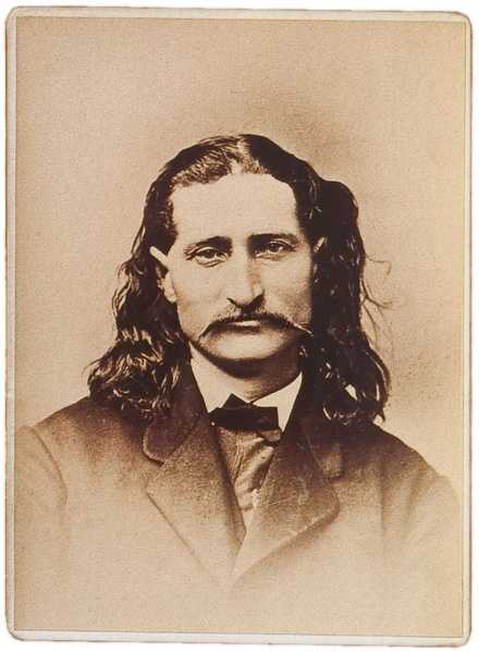 Wild Bill Hickok was buried in 1876 with his Sharps rifle.