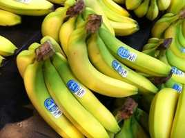 The one food Harvey can't live without? Bananas