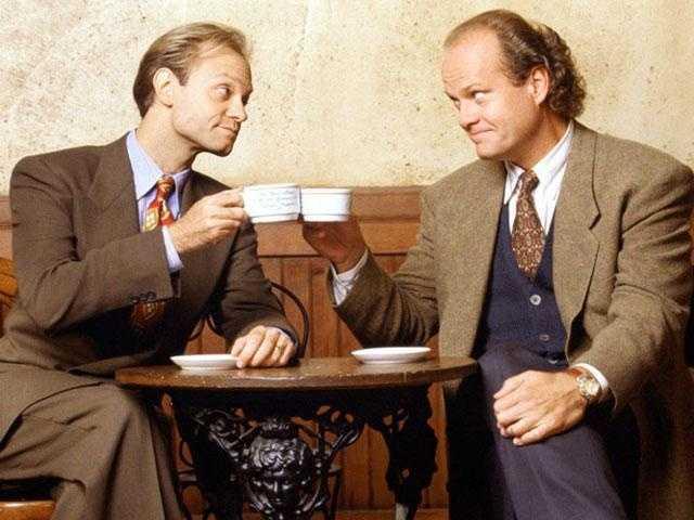 Harvey's all-time favorite TV show is Frasier.
