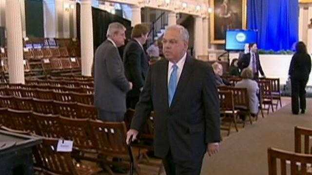 Mayor Menino acknowledged Monday the city of Boston will be closely monitoring his walk, more than his talk on Tuesday when he delivers his 20th State of the City address.