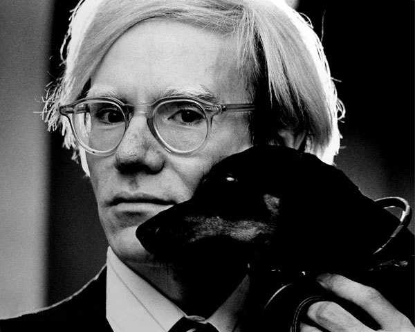 Artist Andy Warhol was buried with a bottle of Estee Lauder perfume.