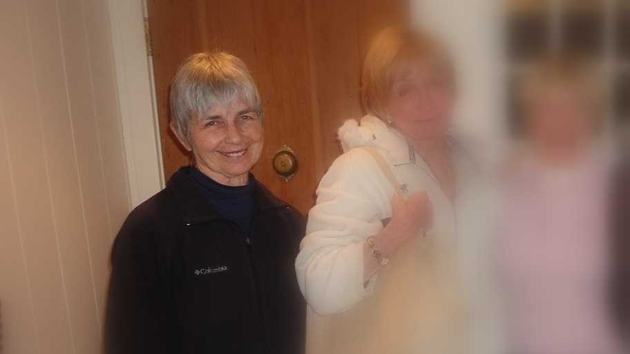 Kitty Houghton was found dead inside the Hampton Inn in Littleton, N.H. Monday night.