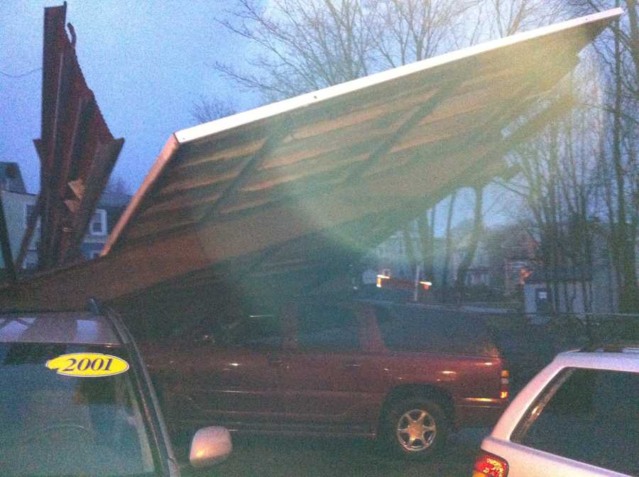 The shop owner's brother saw the damage was trying to get in contact with the owner.