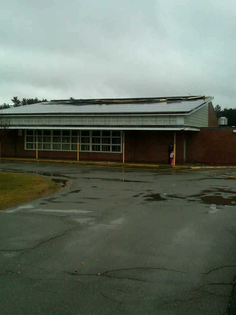 Students will go to adjacent Laliberte school today.