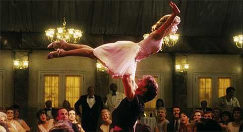 "Jennifer Grey's last dancing scene in ""Dirty Dancing."""