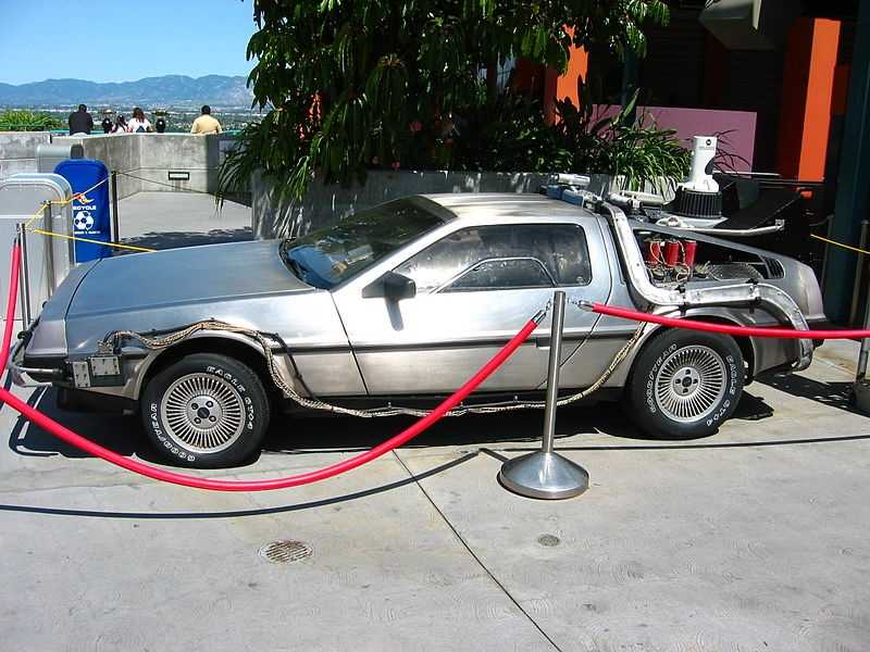 """To be Marty McFly in """"Back to the Future"""" and travel through time in the DeLorean."""