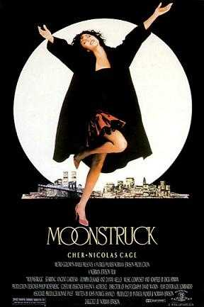 """Cher to Nicholas Cage in Moonstruck, """"Snap out of it!"""""""