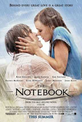 """The end of """"The Notebook."""" Dying in bed lying next to the love of your life."""