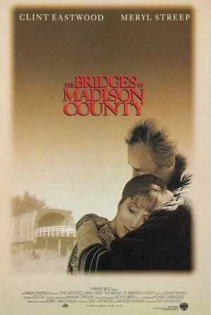 """""""Bridges of Madison County"""" kitchen scene when Clint Eastwood tells Francesca that this kind of certainty only comes around once in a lifetime."""