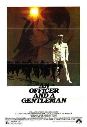 """The last scene in an """"Officer and a Gentleman."""""""