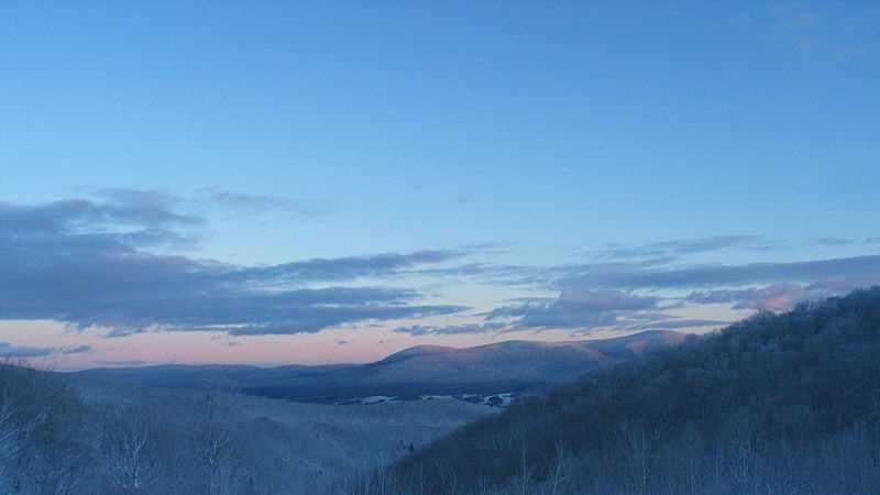 Berkshire winter