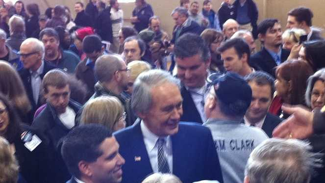 Markey in Malden