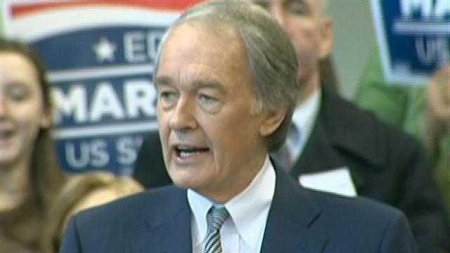 Markey launches campaign for Senate