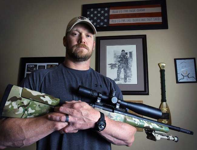 "Chris Kyle, a decorated veteran, wrote the best-selling book, ""American Sniper: The Autobiography of the Most Lethal Sniper in U.S. Military History,"" detailing his 150-plus kills of insurgents from 1999 to 2009. Kyle said in his book that Iraqi insurgents had put a bounty on his head.Kyle's nonprofit, FITCO Cares, provided at-home fitness equipment for emotionally and physically wounded veterans. (1974 – February 2, 2013)"